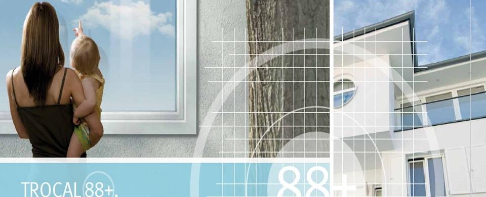 Porta pvc Trocal pvc stolarija prozori vrata zavese komarnici terase